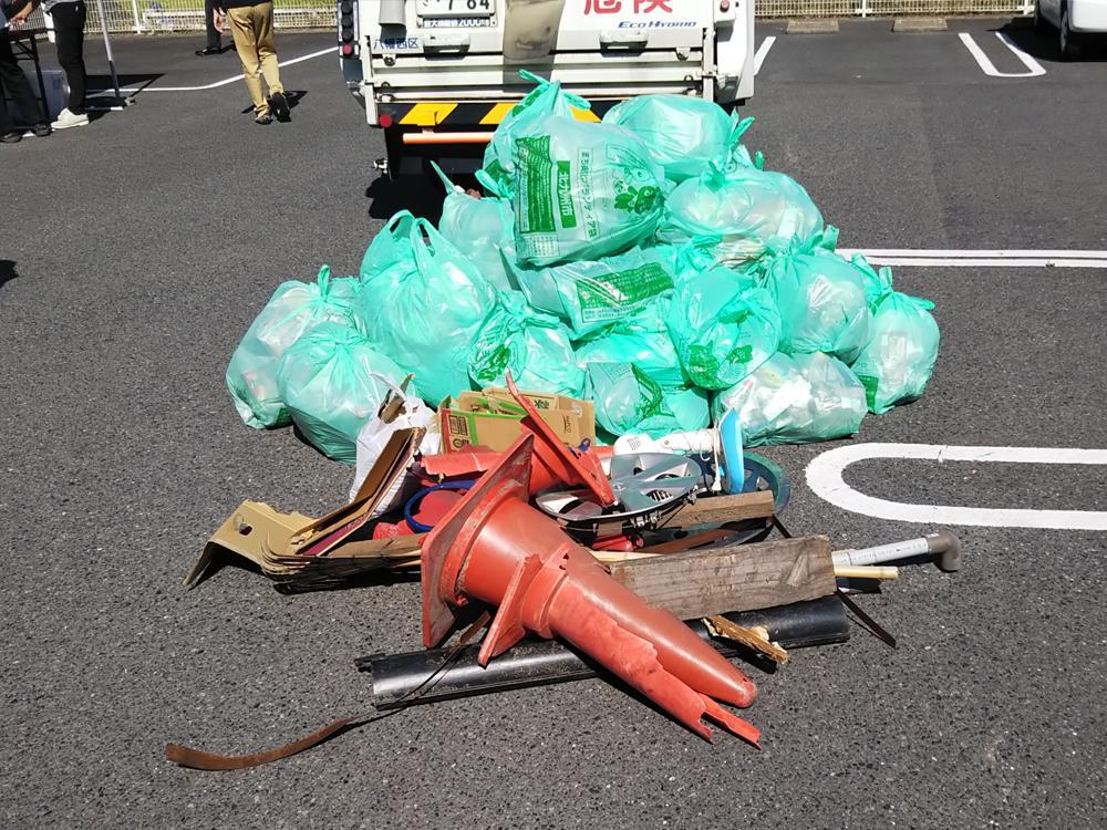 清掃ボランティア活動に参加(2020年10月20日)